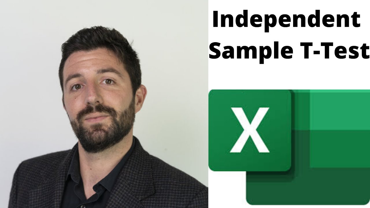 how to run t test in excel