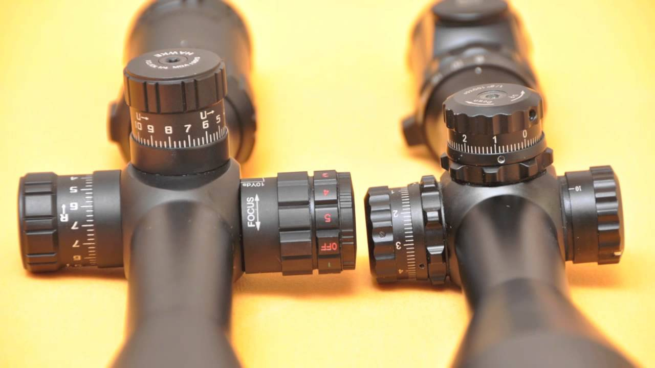 Hawke sidewinder 30mm 8 32x56 & leapers 8 32x56ao swat scope