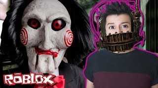 I MET SAW IN ROBLOX AND THIS HAPPENED 😱! (ROBLOX-The Trials)
