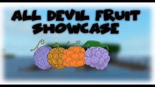 [Roblox] One Piece Open Seas | All Devil Fruits Showcase