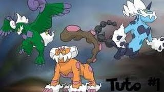 PokéTuto:Pokémon noire et blanche 2 : Comment avoir Boréas,Fulguris et Démétéros en forme totémique!