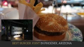 Arizona Food: The ChuckBox: Best Burger Joint in the East Vallet (TEMPE) Arizona