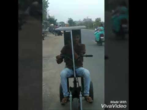 Solar cycle invented by my diploma friends vibudhi Gopi