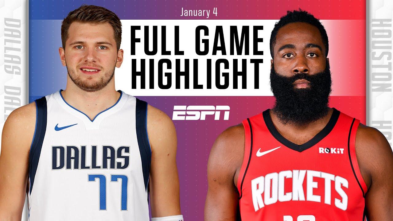 Mavericks vs. Rockets - Game Recap - January 4, 2021 - ESPN
