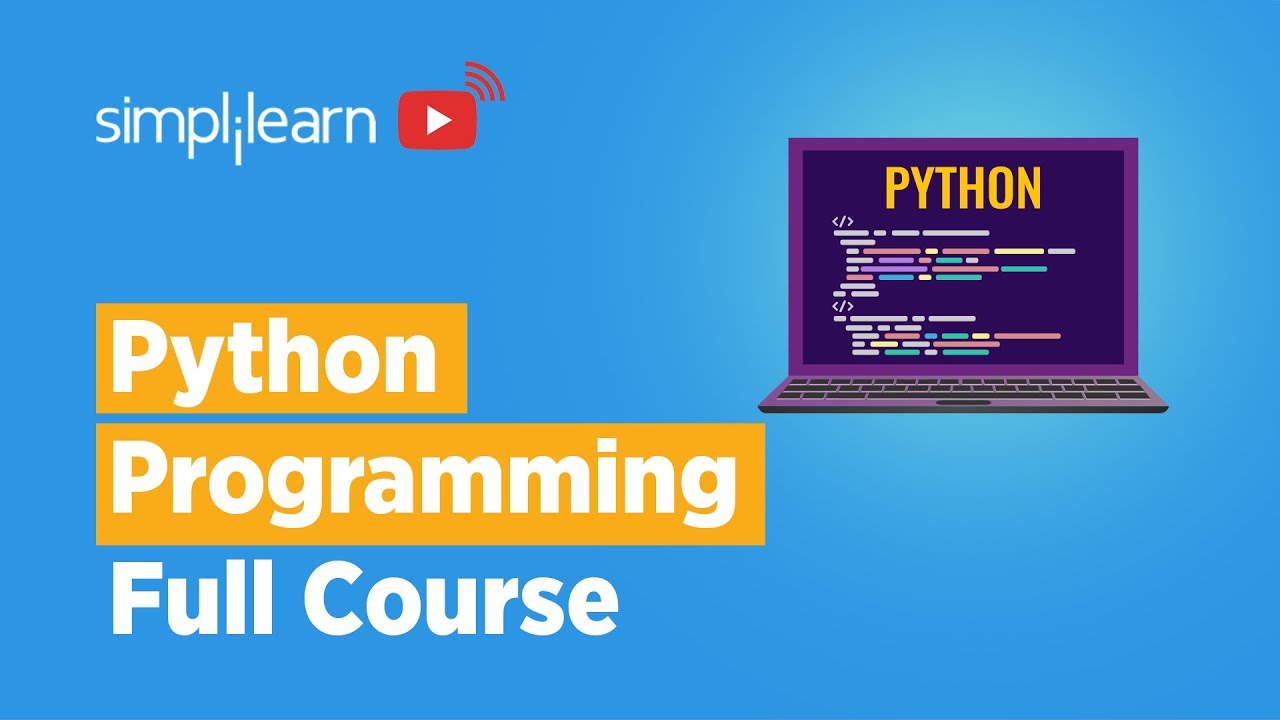 Python Programming Full Course   Learn Python In 8 Hours   Python Full Course