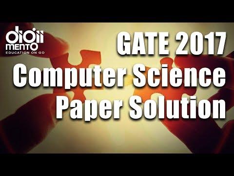 GATE 2017 Computer Science Question paper Solution part 2