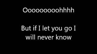 IF I LET YOU GO LYRICS.wmv