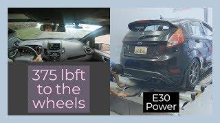 E30 TUNED Fiesta ST, Daily Experience, Dyno, & Track
