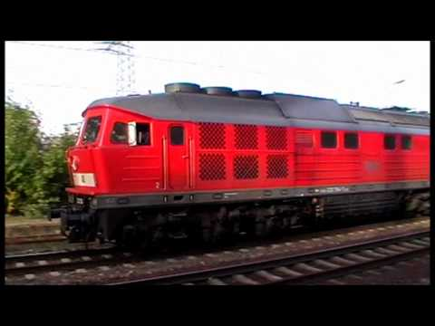 One half hour german dieselpower, for my Train and youtube friend Tak tkd011 from Tokyo