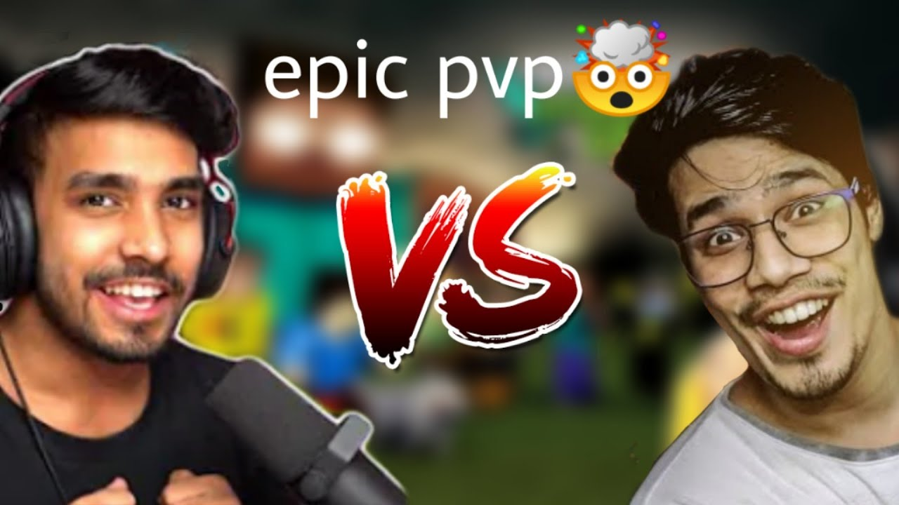 Download Techno Gamerz VS Gamer Fleet epic Fight in herobrine smp
