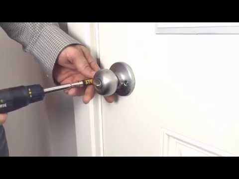 How to Tighten a Loose Handle, Stop Drafts or Adjust Your Front Door to Move Freely