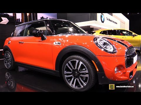 2019 Mini Cooper S Exterior and Interior Walkaround 2018 Detroit Auto Show