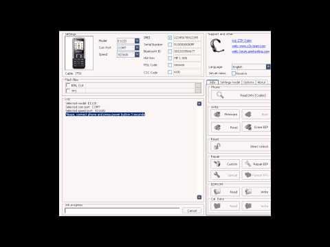 Samsung E1120 freischalten