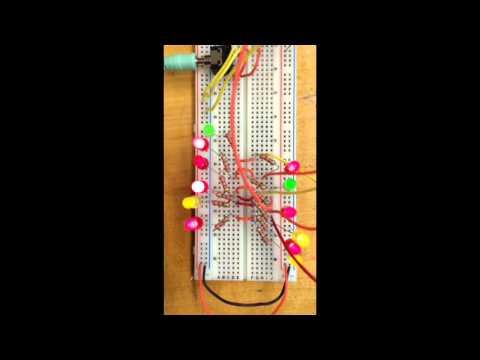 Audio Spectrum Analyzer using arduino (MSGEQ7)