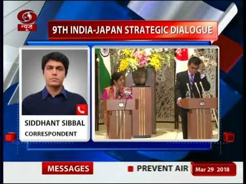 9th India-Japan Strategic Dialogue