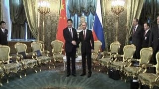 China, Russia Make Major Gas Deal