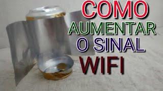 Como aumentar o sinal WiFi com uma latinha