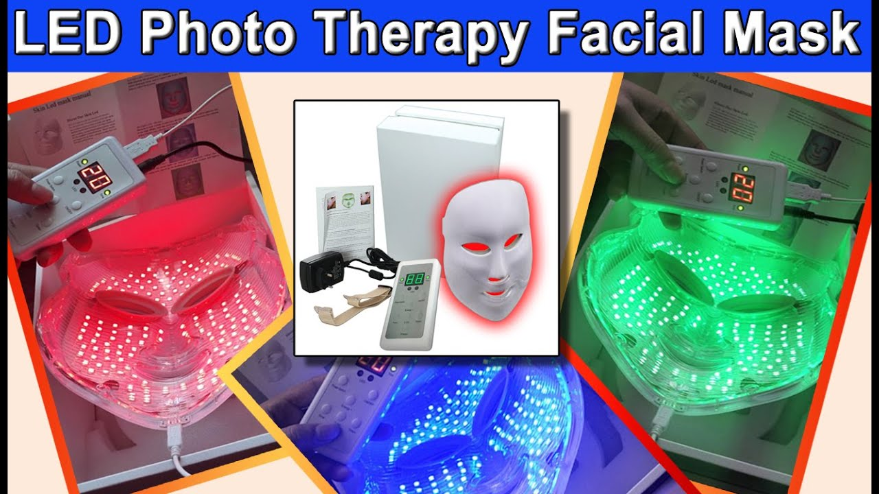Pro Nu Photon 3 In 1 Red Blue Green Led Photo Rejuvenation
