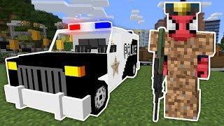 Fakir Örümcek Adam Polis Oldu Tehlikeli Görevde - Minecraft Zengin vs Fakir Örümcek Adam