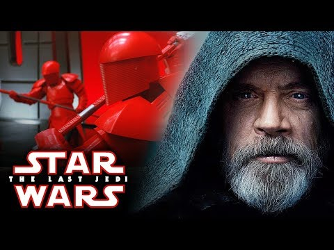 Star Wars: The Last Jedi - Amazing New Images of Luke Skywalker! Snoke's Elite Guards and More