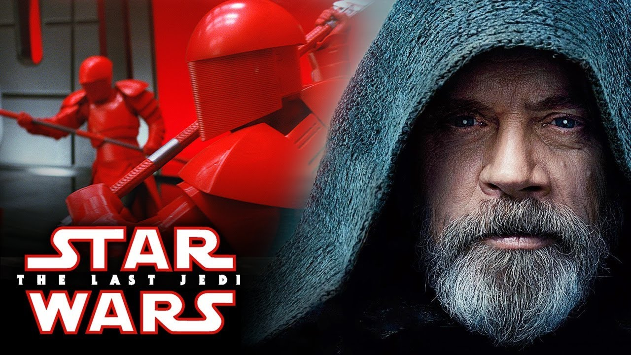 Star Wars The Last Jedi Amazing New Images Of Luke Skywalker Snoke S Elite Guards And More Youtube