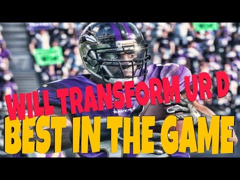 WINS GAMES FOR U! MUST HAVE FOR YOUR DEFENSE MOST FEARED RAY LEWIS! MADDEN 18 MUT TEAM GAMEPLAY