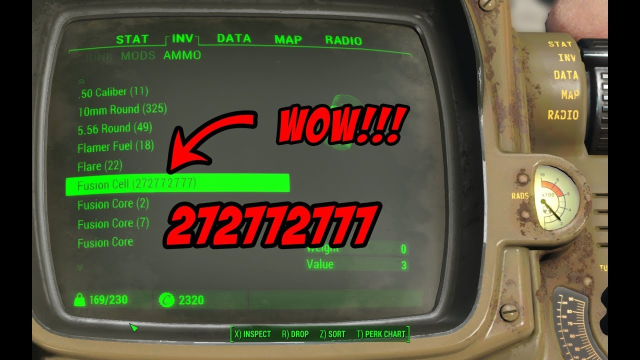 FALLOUT 4 - DUPLICATION GLITCH(AND AMMO!) 2019 *still works*