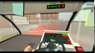 Roblox London Hackney & Limehouse bus simulator on Optare Solo Route 309