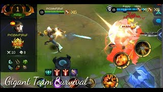 Mobile Legends/Giant Claude in survival mode