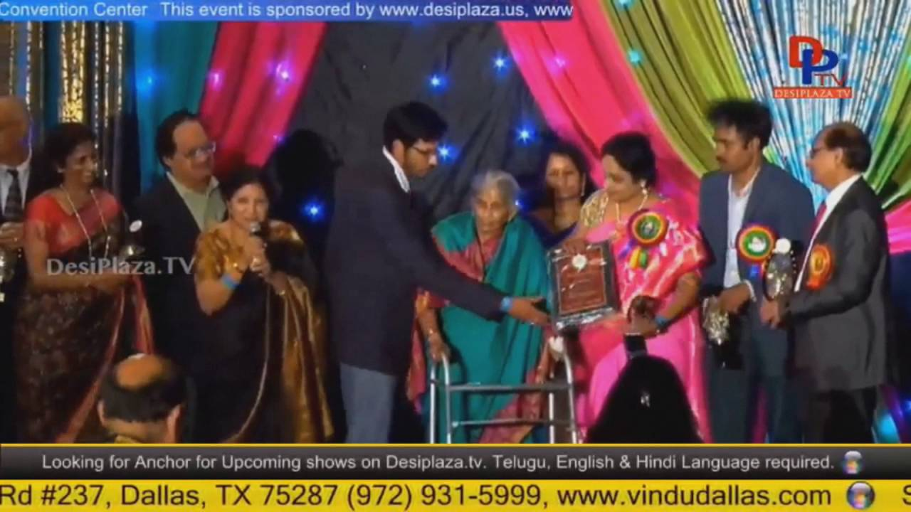 Tamresa Family being Felicitatedat TCA Houston - Convention 2016