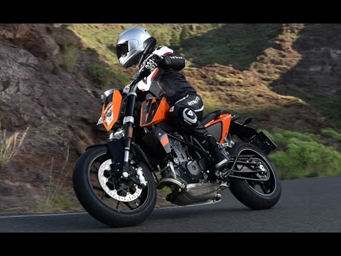 2016 KTM 690 Duke First Ride Review - YouTube