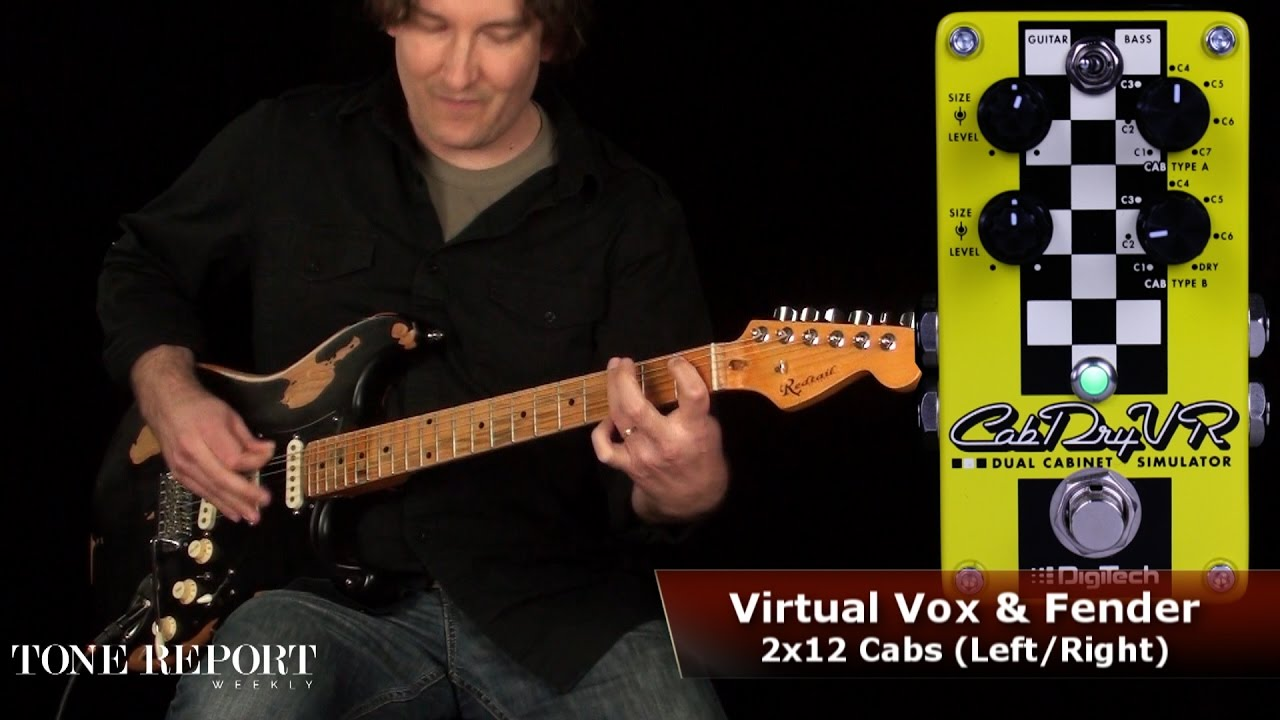 CabDryVR | DigiTech Guitar Effects