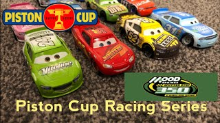 Piston Cup Racing Series PCRS | Race 6/7 Georgia Super Speedway Stop Motion