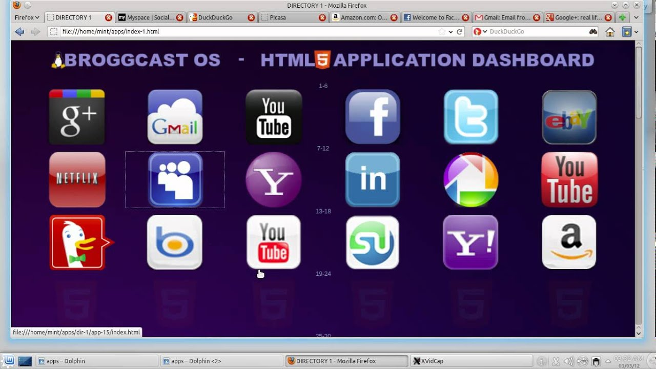 Open HTML5 Apps on Linux (Enyo-Ready Directory)