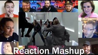 Marvel's The Defenders Official Trailer   REACTION MASHUP