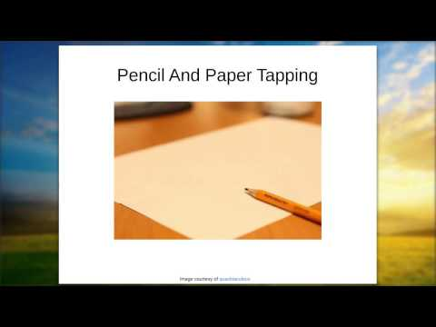 Practical Wellbeing EFT Webinar: Pencil And Paper Tapping