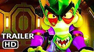 "PS4 - Crash Team Racing Nitro-Fueled ""Gasmoxia Grand Prix"" Trailer (2020)"