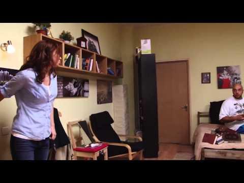 Сериал Универ на съемочной площадке и интервью у Кристины