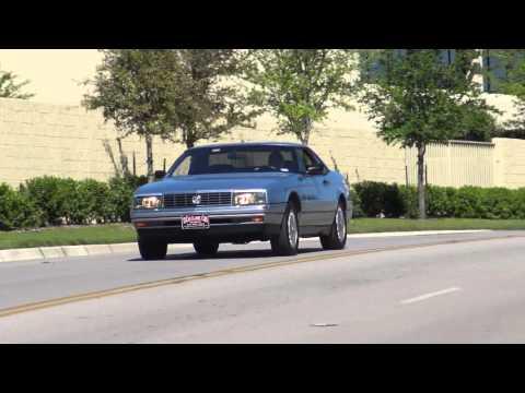 1990 Cadillac Allante Convertible 90s classic car
