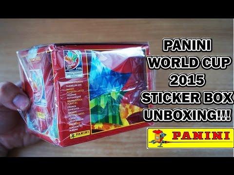 PANINI FIFA Women's World Cup Canada 2015 Stickers Album Box Break