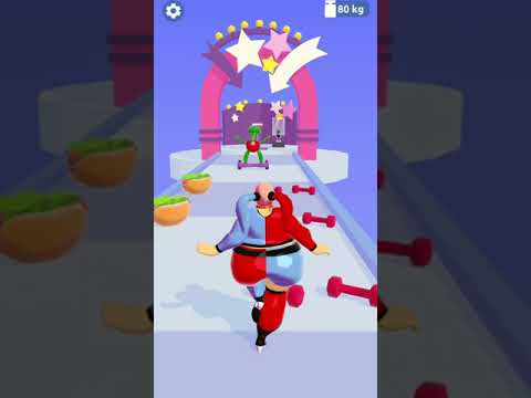 Body Race Mobile Gameplay #shorts