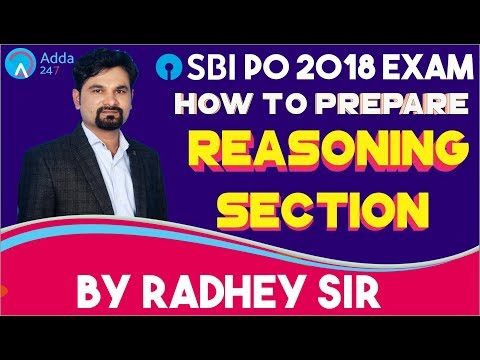 SBI PO/CLERK|How To Prepare Reasoning For SBI PO/CLERK 2018|Radhey sir
