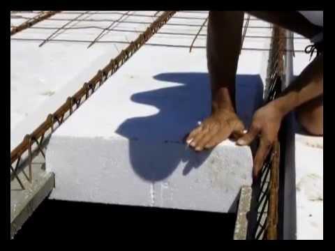 pose plancher hourdis l ger youtube. Black Bedroom Furniture Sets. Home Design Ideas