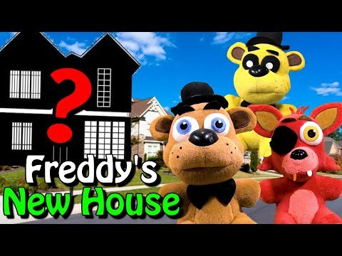 "fnaf-plush-–-freddy's-new-house-""moving-day"""