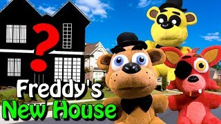 """FNAF Plush – Freddy's New House """"Moving Day"""""""