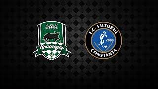 FK Krasnodar vs FC Viitorul Constanta full match