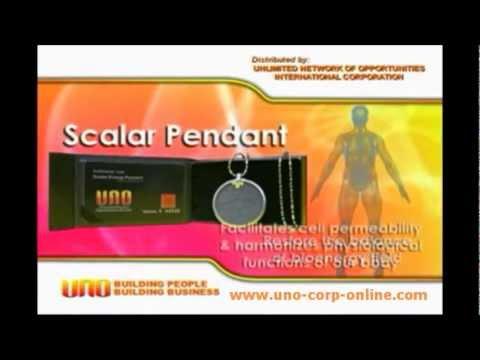 UNO Scalar Energy Pendant