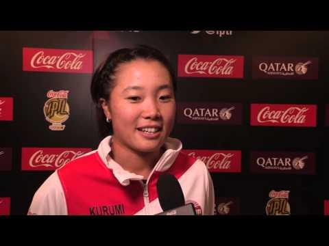 IPTL 2015: Kurumi Nara upbeat after defeating Serena Williams