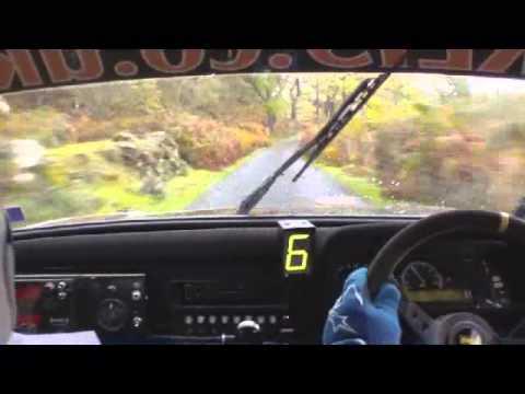Mull Rally 2012 Calgary Bay and Loch Tuarth Gasho In Car