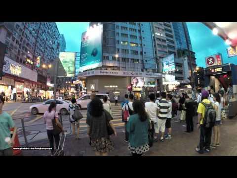【Hong Kong Night Walk】 Nathan Road (Northbound)